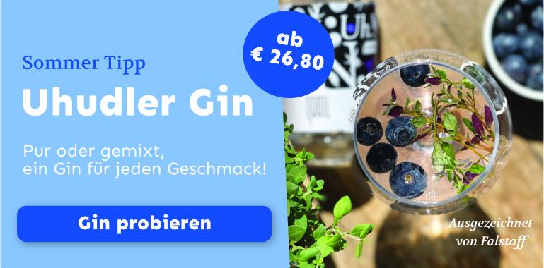 Der erste Uhudler Gin