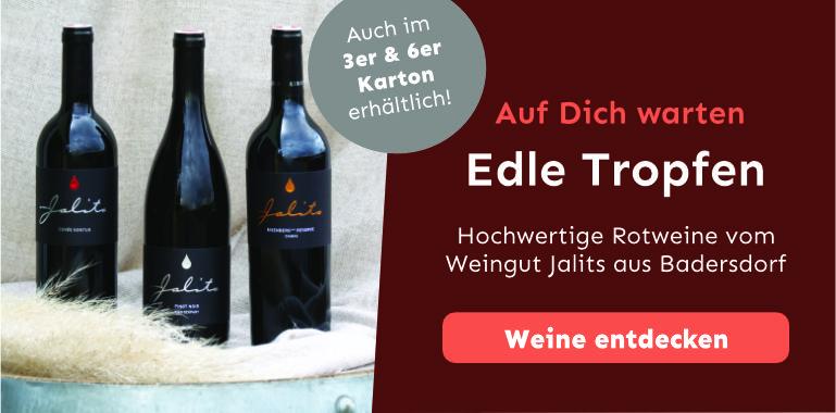 Rotweine vom Weingut Jalits