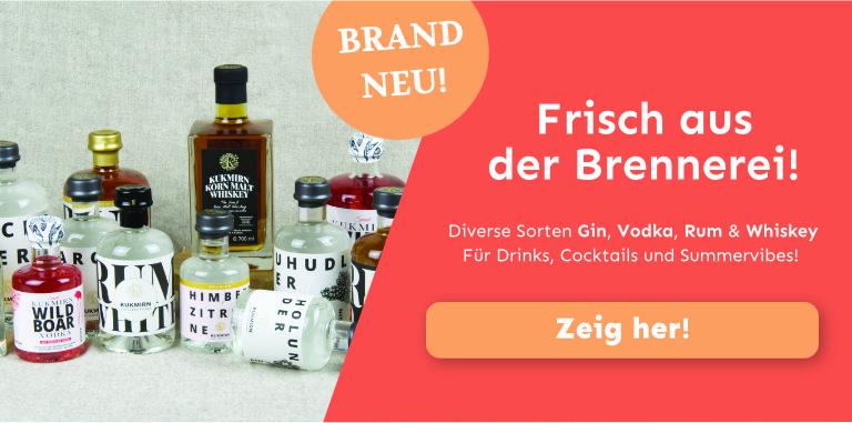 Destillerie Puchas Kukmirn. Wo Leidenschaft brennt. Gin, Vodka, Rum und Whiskey.
